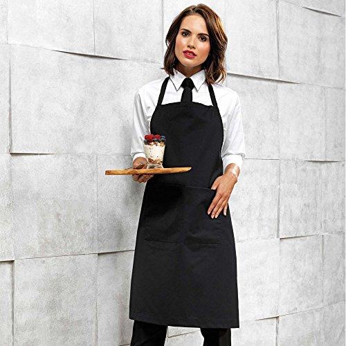 comprare on line InnoGear 2 Pezzi Regolabile Bavaglino Grembiule con 2 Tasche di Cucina Chef di Cucina Grembiuli da Uomini delle Donne, Neri prezzo