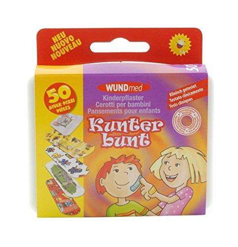 BABY-WALZ Boîte de pansements pour enfants santé bébé, multicolore