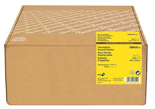 Avery España TD8050-25 - Etiquetas rollo impresión