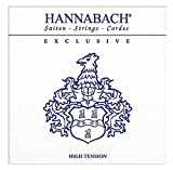 Hannabach Cordes Guitare classique Série Exclusive Tension forte E6w corde unique
