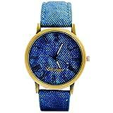 Eleganzza Analogue Blue Dial Men's Watch...