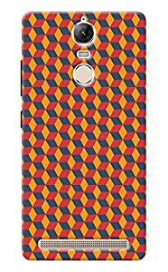 Unicraft Back Cover for Lenovo Vibe K5 Note (3D Printed Multicolor)