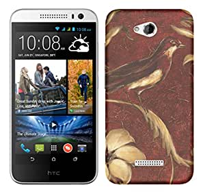TrilMil Printed Designer Mobile Case Back Cover For HTC Desire 616