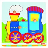 Goki 57551 - Steckpuzzle - Lokomotive