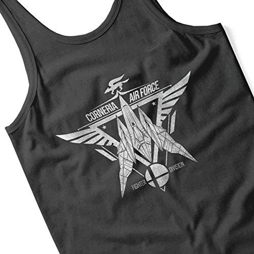 Star Fox Squadron Corneria Air Force Women's Vest Black