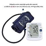 DBPOWER Smart Oberarm Blutdruckmessgerät Meter, IHB und WHO Indikator, 90×2 Speicher für 2 Nutzer, FDA zugelassenes digitales Blutdruckmessgerät (Armband 22cm-42cm) - 3