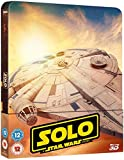 Solo: A Star Wars Story Steelbook 3D Includes 2D Version UK Exclusive Limited Edition Steelbook Region Free