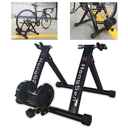 YIYIBY 24-27\'\' Fahrrad Rollentrainer, Heimtrainer Fahrrad für Indoor Fahrradfahren zu Hause mit Magnetbremse (Maximale Last 330lbs) DE DHL
