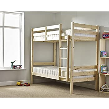 Adult Bunkbed - 3ft Single Bunk Bed - VERY STRONG BUNK! - Contract Use -