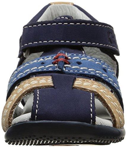 Kickers Bigbazar, Chaussures Bébé marche bébé garçon Bleu (Marine/Bleu/Beige)