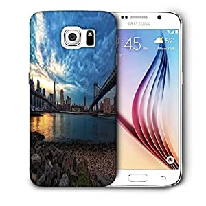 Snoogg New York Lake View Printed Protective Phone Back Case Cover For Samsung Galaxy S6 / S IIIIII