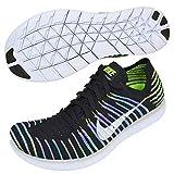 Nike 831070-003, Scarpe da Trail Running Donna, Nero (Black/White/Volt/Blue Lagoon), 37.5 EU
