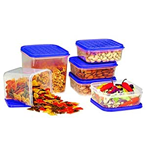 Ruchi Storewel Container Set, 6-Pieces, Blue
