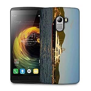 Snoogg White And Black Boat Designer Protective Phone Back Case Cover For Lenovo Vibe K4 Note