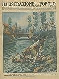 Presso Gonzaga, nel Mantovano, un cane, visto cadere in una roggia il suo padroncino di cinque anni, si gettava nell'acqua per salvarlo.