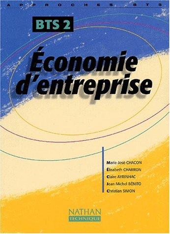 Economie d'entreprise BTS 2