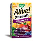 Best Womans Vitamins - Nature's Way Alive! Once Daily Women's Ultra Potency Review