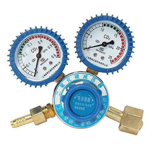 ChaRLes Argon-Co2-Druckminderungsreduktor Mig Tig Flow Control Valve Regulator Für Gauge-Schweißen -