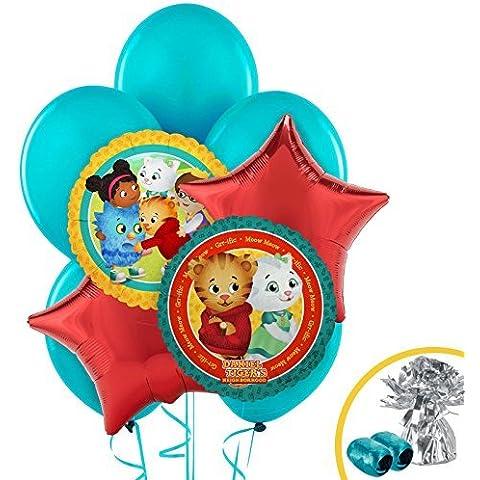 Daniel Tiger's Neighborhood Balloon Bouquet by BirthdayExpress