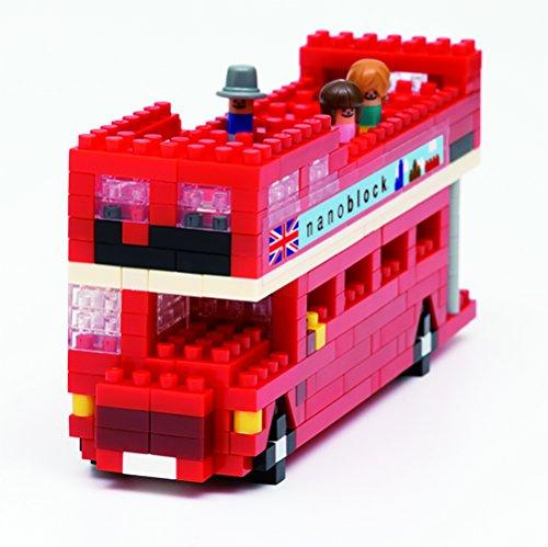 Unbekannt NANOBLOCK 14837 - London Tour Bus, 3D-Puzzle, Sights to See, 360 Teile, Schwieri Preisvergleich