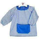 fc85fc5f0 KLOTTZ - BABI PONCHO SIN BOTONES bebé-niños color  CELESTE talla  0