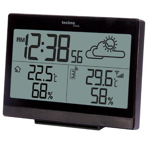 Wetterstation WS 9252 mit Vorhersage der Wetterlage, sowie Innen- und Außentemperatur