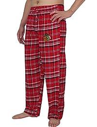 NHL Chicago Noirhawks Pantalons pour hommes automne / hiver Plaid Pyjama