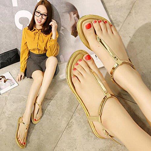 alla Cinturino Gold Donna caviglia SUNAVY 5XPUwq4xx