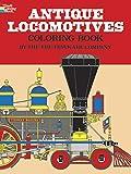 ANTIQUE LOCOMOTIVES. Coloring book