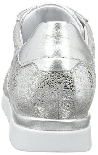 Semler Nelly, Sneakers  femme Grau (perle-chrom-silber)