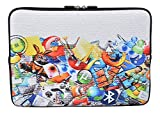 MySleeveDesign Laptoptasche Notebooktasche Sleeve für 10,2 Zoll / 11,6 - 12,1 Zoll / 13,3 Zoll / 14 Zoll / 15,6 Zoll / 17,3 Zoll - Neopren Schutzhülle mit VERSCH. DESIGNS - Internet [15]