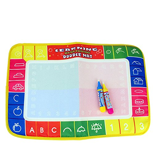 IMJONO Puzzle Toys, Children's day summer birthday present 2019 Best Gift for kids Water Drawing Painting Writing Mat Board Magic Pen Doodle Toy Gift 46 x 30cm