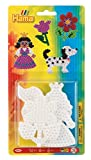 Hama 4562 - Stiftplatten klein Sortiment, Hund, Blume und Prinzessin