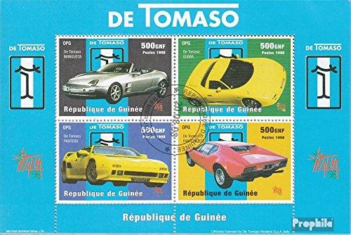 sellos-para-coleccionistas-guinea-bloque-544-completaedicion-matasellado-1998-fabricantes-de-automov