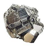 Pyrit Kristall Naturstück auch Katzengold genannt A* extra Qualität aus Peru ca. 40 - 50 mm.(4695)