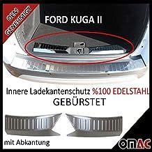 FORD KUGA 1  Einstiegsleisten mit Abkantung Schutzleiste  Aluminium