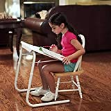 K.D.Enterprises Table-Mate Adjustable Table (White) Without Cup