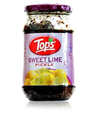 Tops Sweet Lime Pickle, 400 Gm