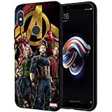 MTT Marvel Avengers Infinity War Printed Mobile Back Case Cover for Redmi Note 5 Pro