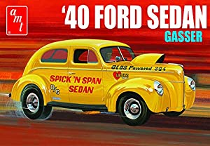 AMT AMT1088 1:25 1940 Ford Sedan Gasser, Multi