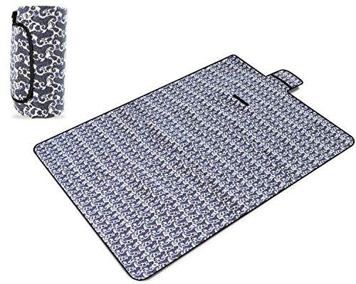 Outdoor Wiese Beständig Gegen Feuchtigkeit Polyestergewebe Säugling Tragbar Aluminium Kriechende Matte Faltbare 150 * 200cm,C-150*200*0.7