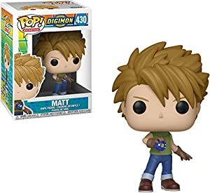 Pop Digimon Matt Vinyl Figure