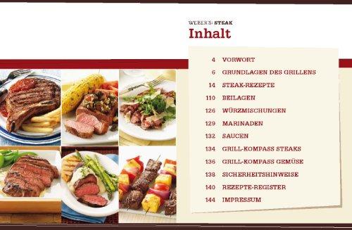 51EKJKwkblL - Weber's Grillbibel - Steaks (GU Weber's Grillen)