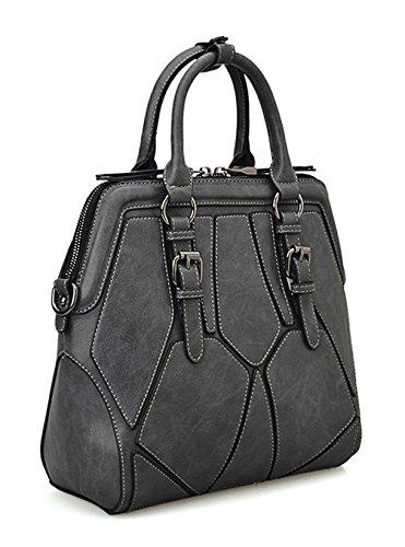 Keshi Pu Cool Damen Handtaschen, Hobo-Bags, Schultertaschen, Beutel, Beuteltaschen, Trend-Bags, Velours, Veloursleder, Wildleder, Tasche Mehrfarbig 3