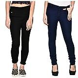 #8: Sapro Womans Multicolors Denim jeans Combo (Pack of 2)
