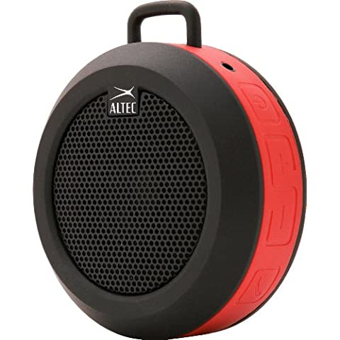 Altec Lansing Orbit - Altavoz portátil Bluetooth, rojo