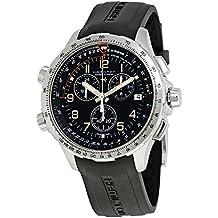 Hamilton X-Wind GMT Negro Dial Mens Reloj cronógrafo h77912335