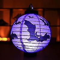 SMAQZ Halloween Pumpkin Lights-portable Lanterns, Glowing Paper Lanterns