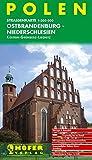 Höfer Straßenkarten, Polen, Ostbrandenburg, Niederschlesien