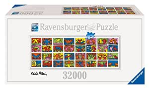 Ravensburger 17838 Keith Haring: Double Retro Puzzle 32000 pezzi